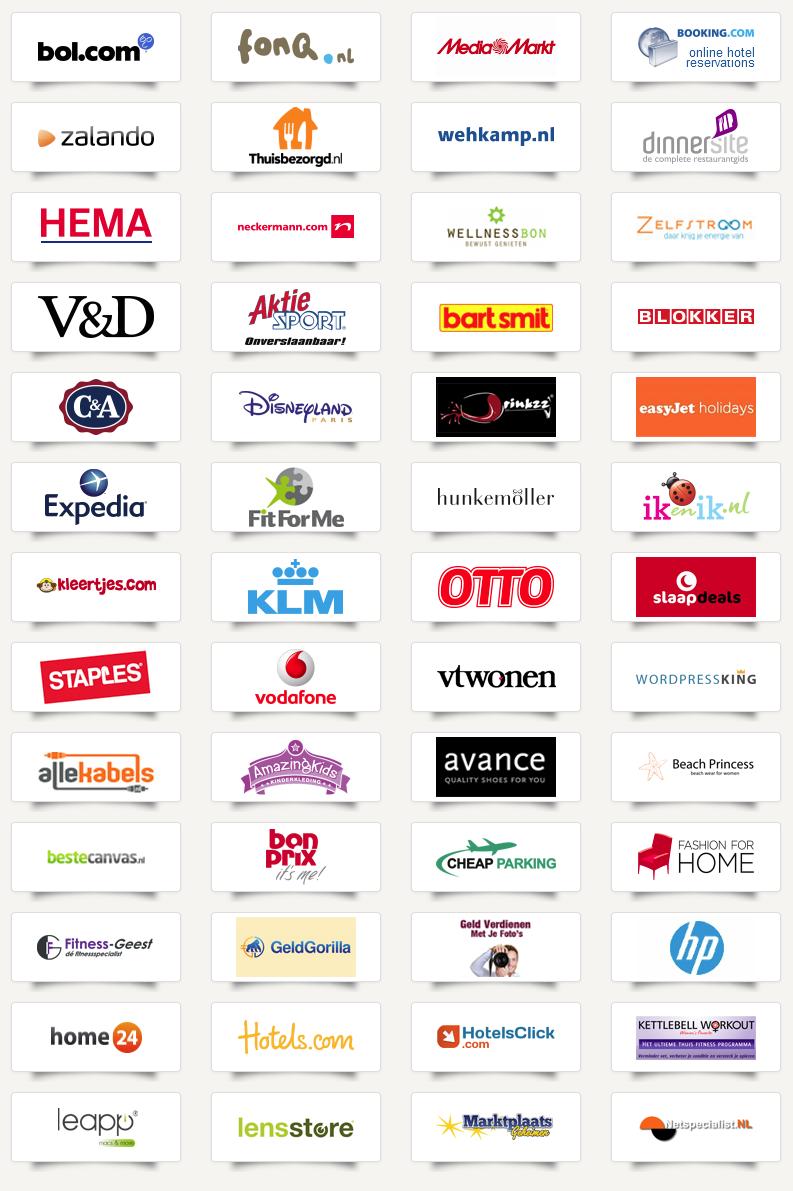 SponsorKliks Webshops